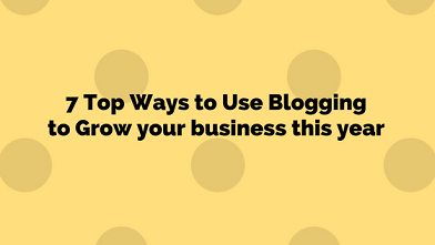 use blogging